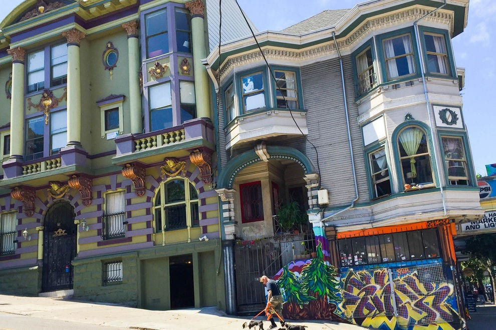 San Francisco's Haight-Ashbury is still colorful