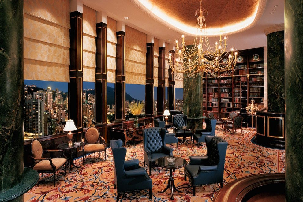 The Library at Island Shangri-La