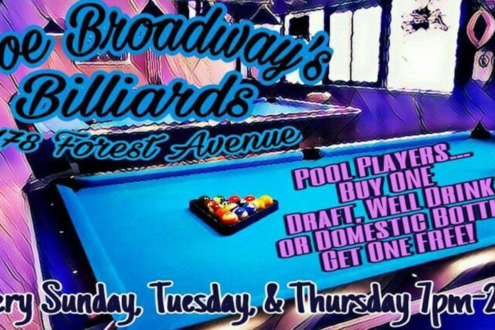 Joe Broadway's Billiards & Sports Pub