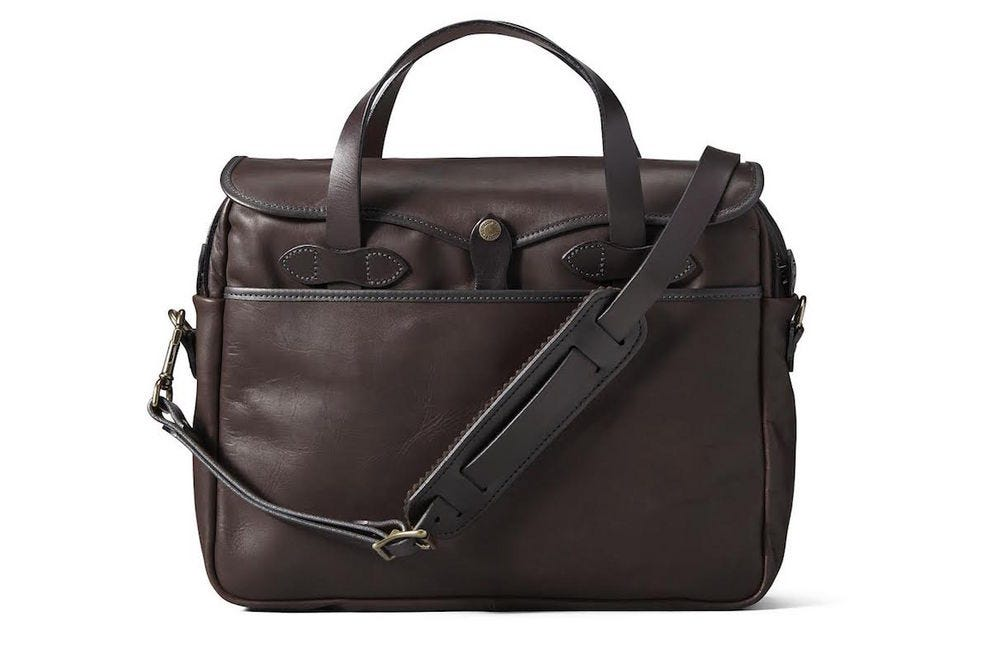 Weatherproof Leather Original Briefcase from Filson