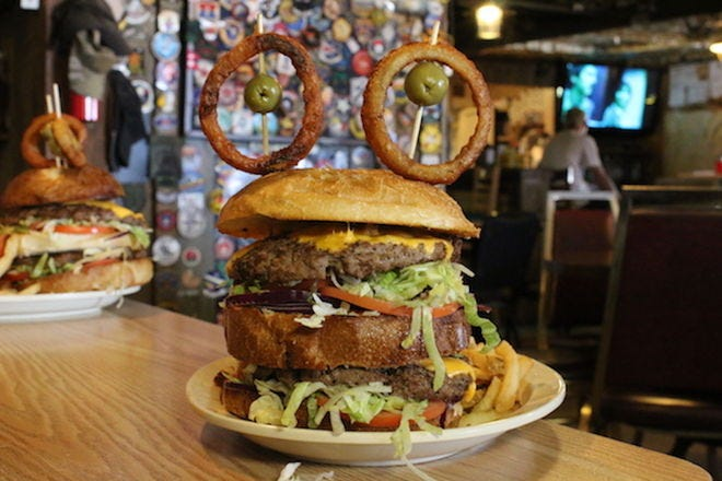 Vote- Best Over-the-Top Burger in Nevada Nominees: 2017