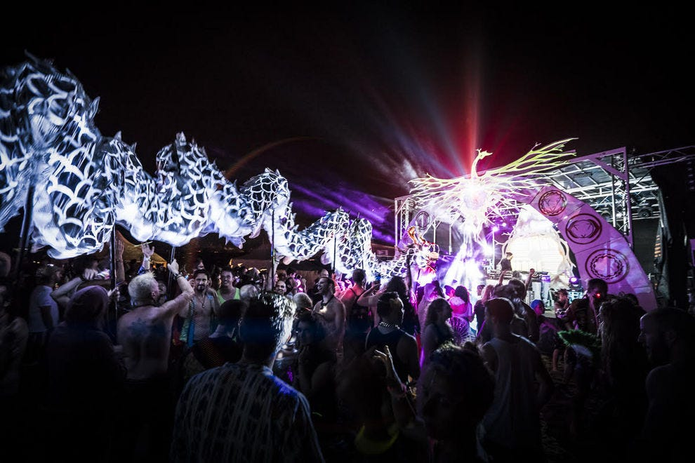 So you didn't get Burning Man tickets? Go to these regional