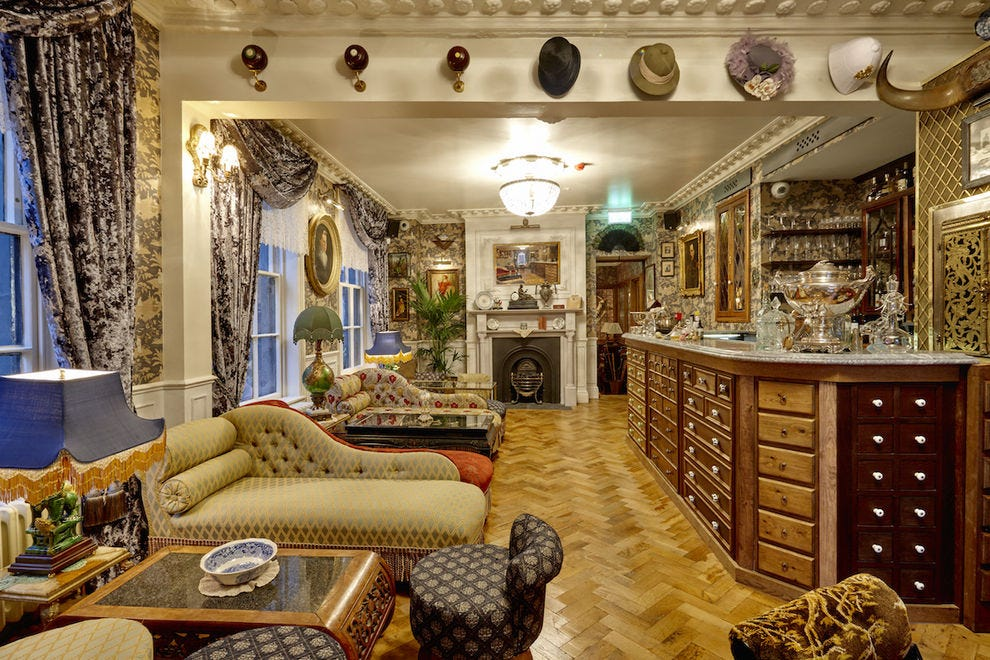 The G & Tea at Mr. Fogg's Gin Parlour, London
