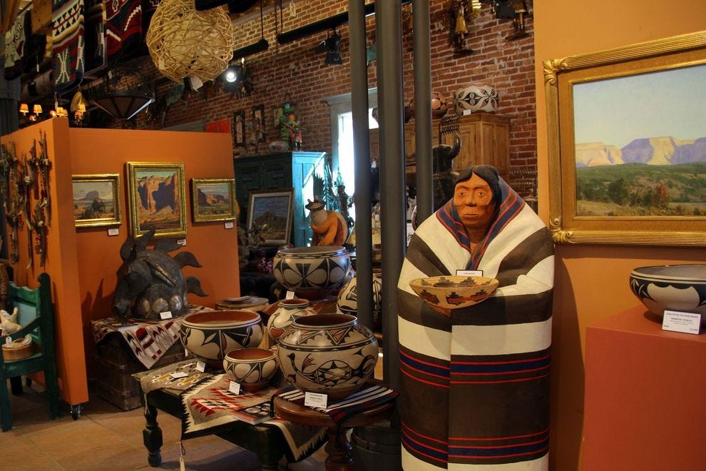 Shop for unique Native American artifacts