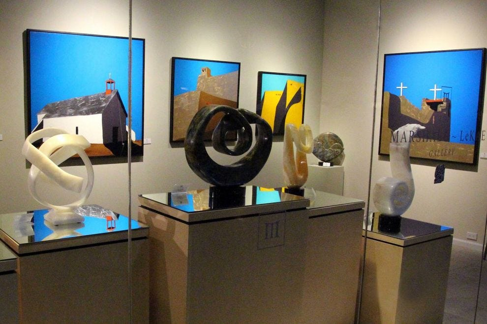 Art flourishes in downtown Scottsdale