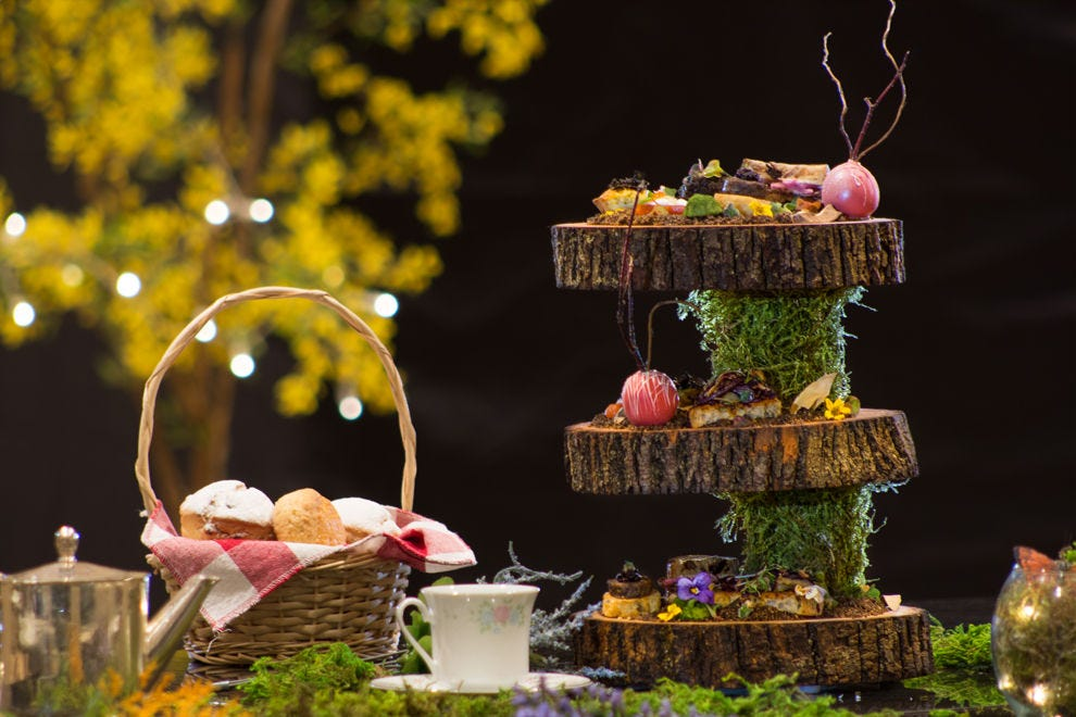 Brothers Grimm Fairy Tale Afternoon Tea at Fairmont Hotel Vancouver