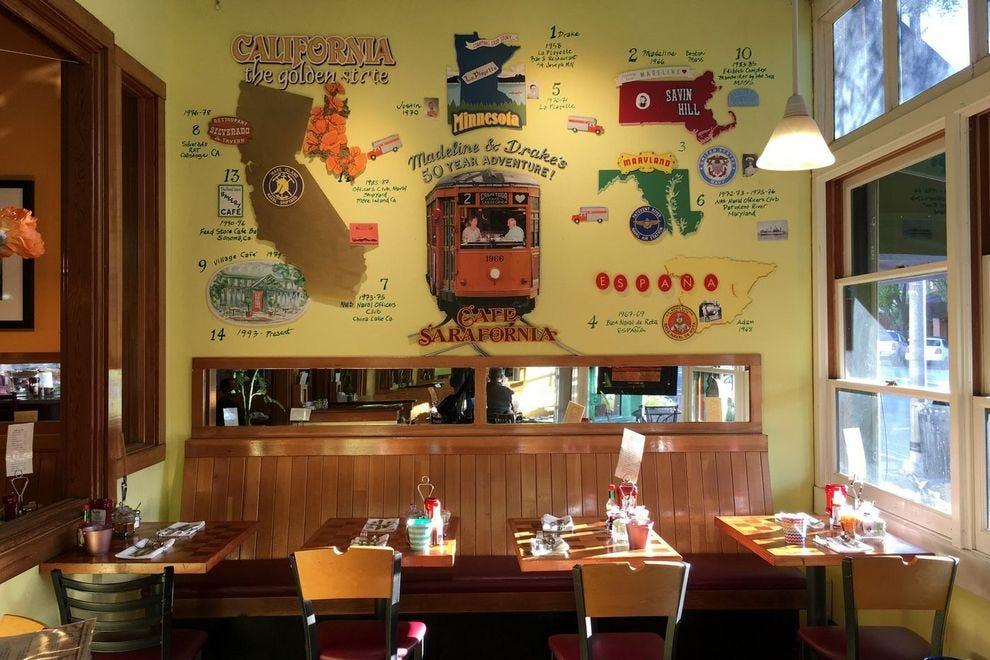 咖啡馆Sarafornia