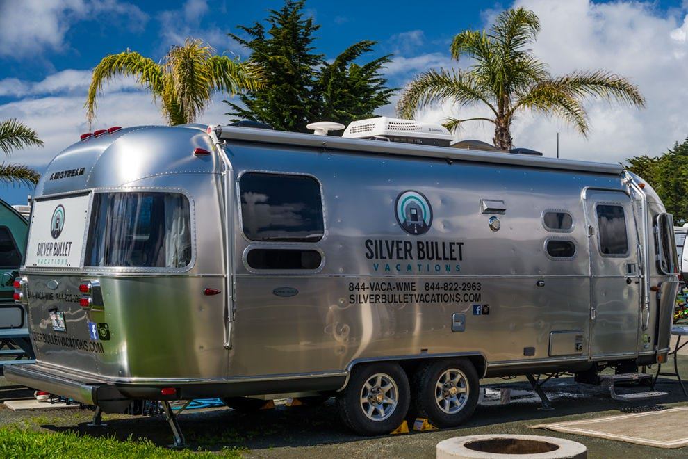 Silver Bullet Vacations 25-foot 2016 Flying Cloud Series Airstream