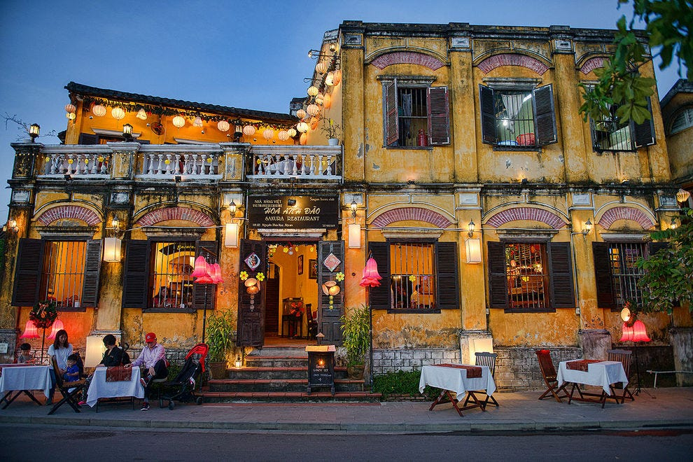 Atmospheric Restaurant in Hoi An