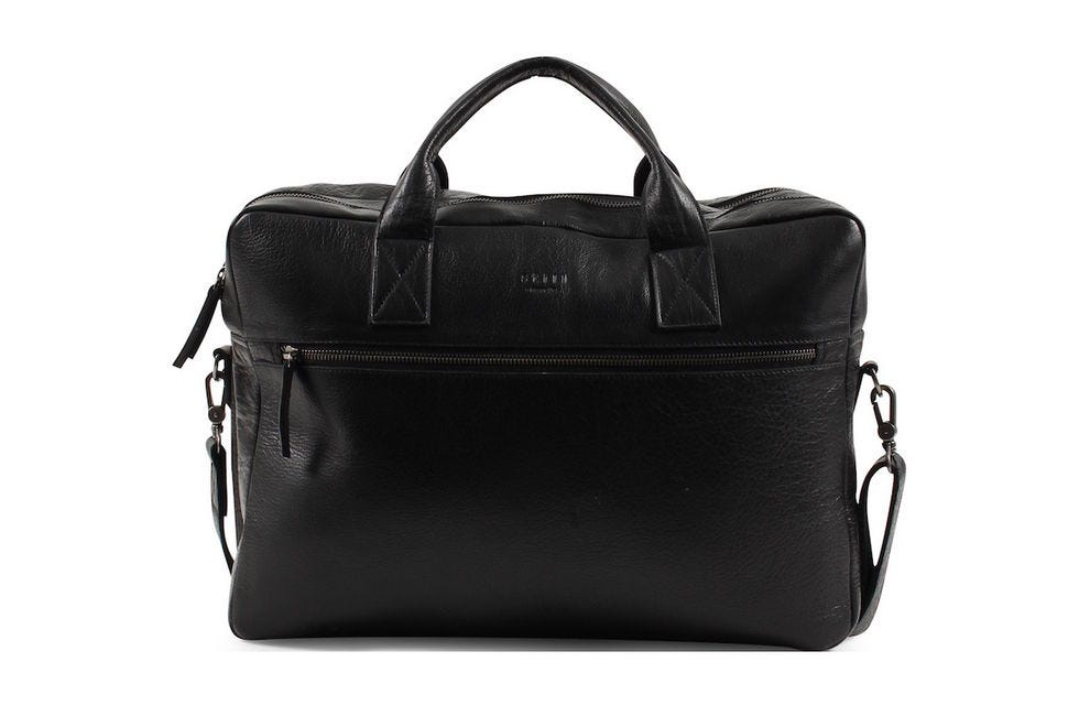 Clean Brief 2 Room black computer bag from Still Nordic