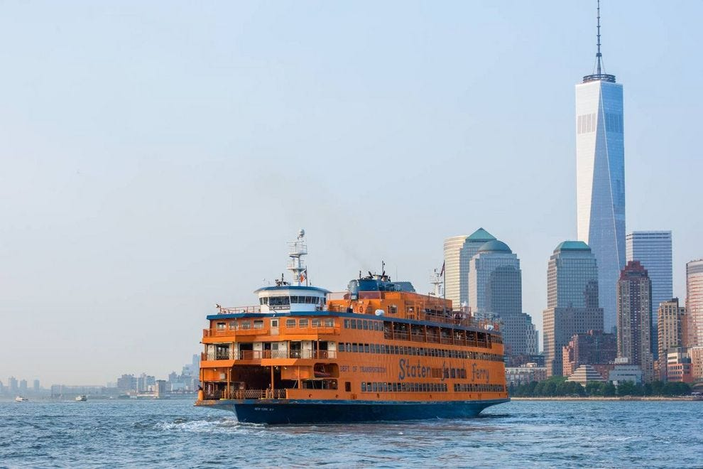 Catch a ride to the other side on the Staten Island Ferry