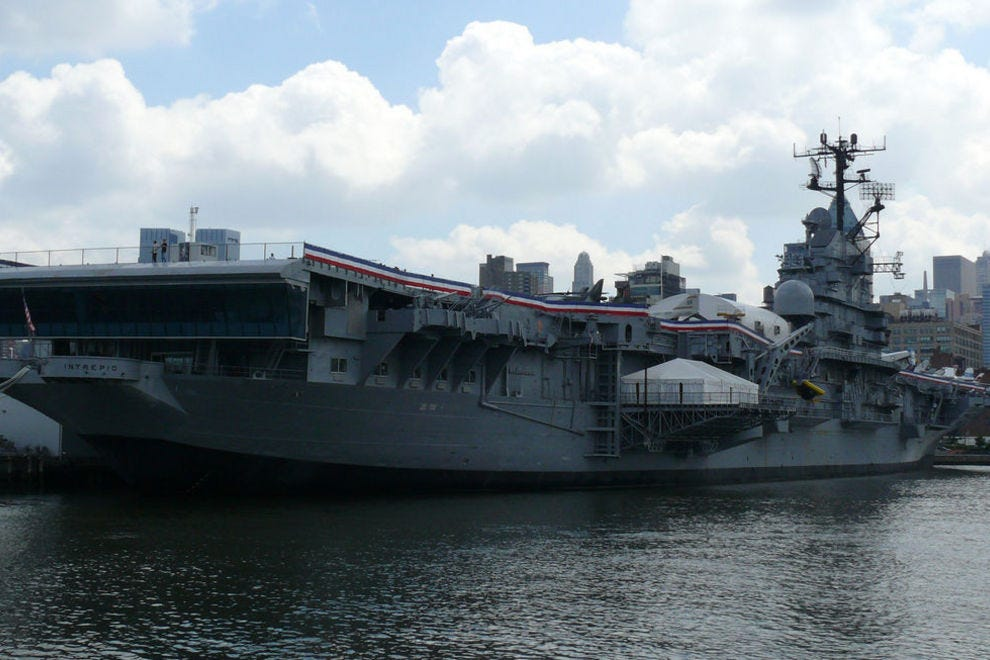 Brush up on your history at the Intrepid