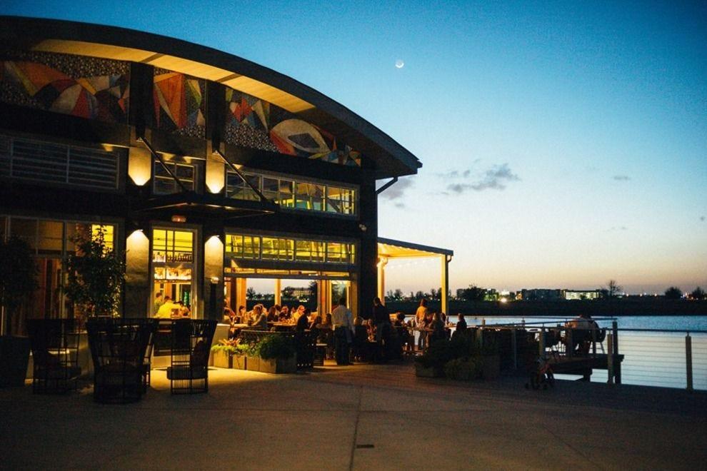 帆布餐厅和市场