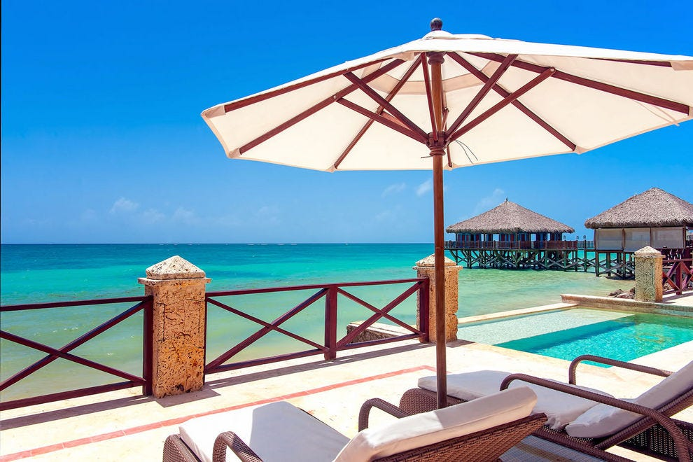 The Royalty Suite pool, Sanctuary Cap Cana