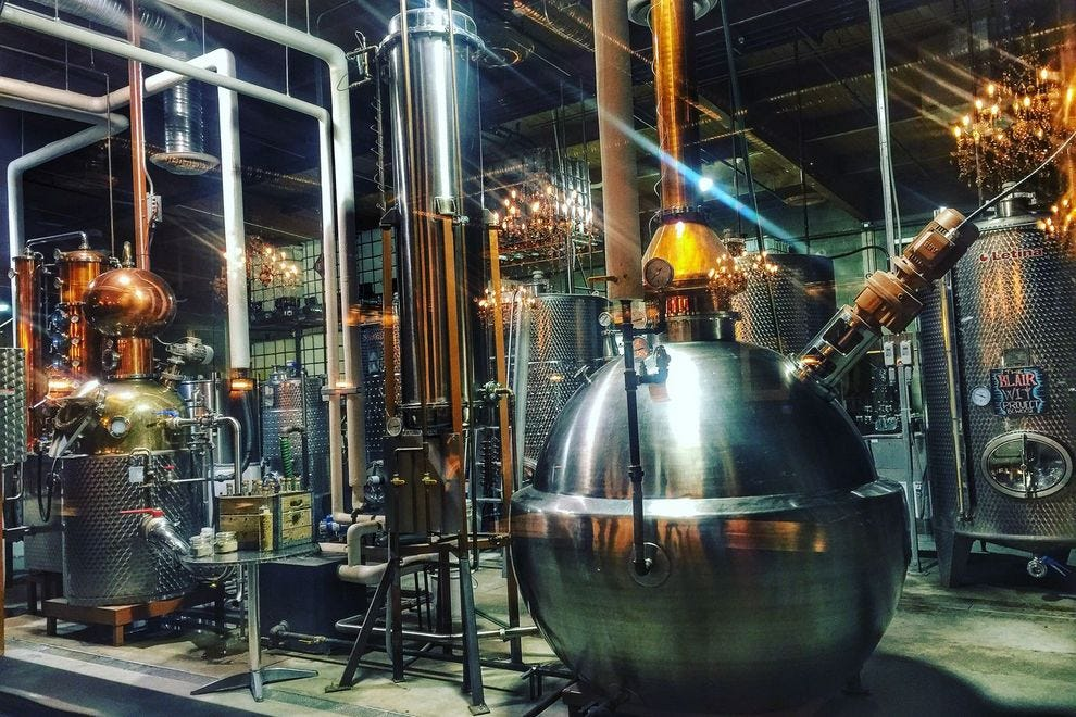 Inside the distillery's inner workings