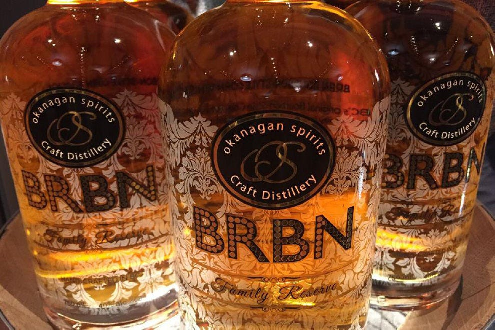 BRBN, a whisky made with grain corn