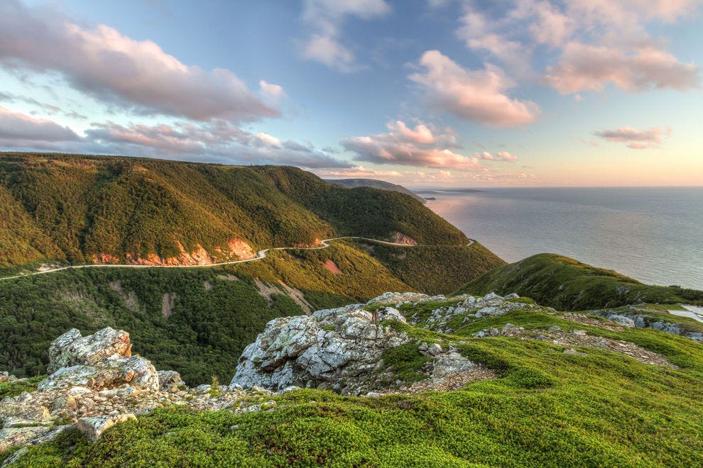 The Cabot Trail unlocks the beauty and culture of the Cape Breton Highlands