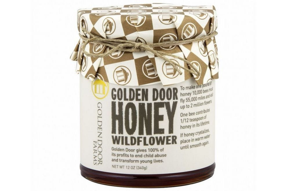 Golden Door Honey Wildflower