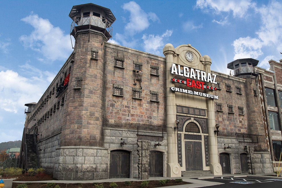 Explore the dark side at Alcatraz East Crime Museum