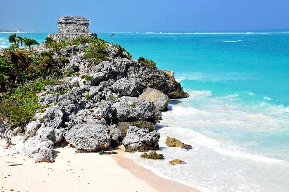 Temple of the Wind in Tulum