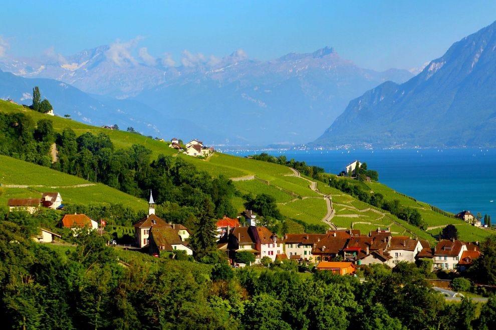 Switzerland's Lake Geneva region is like heaven on earth
