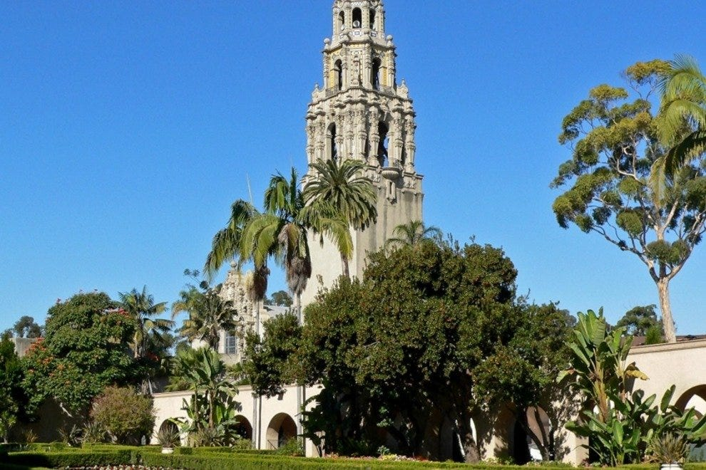 Balboa Park San Diego Attractions Review 10Best Experts and – Tourist Map San Diego