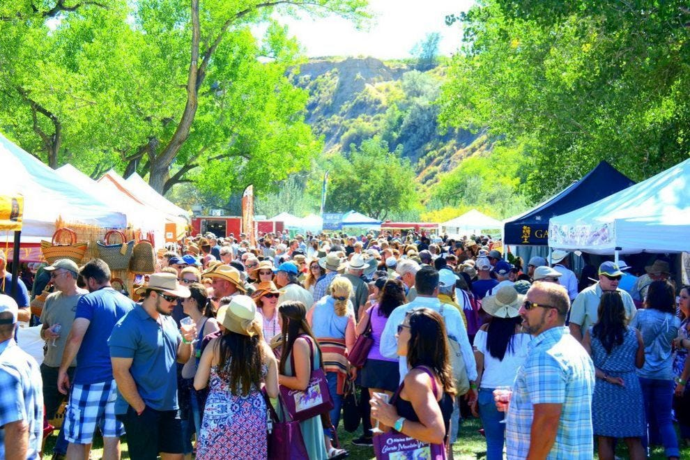 Colorado Mountain Winefest took top honors for Best Wine Festival