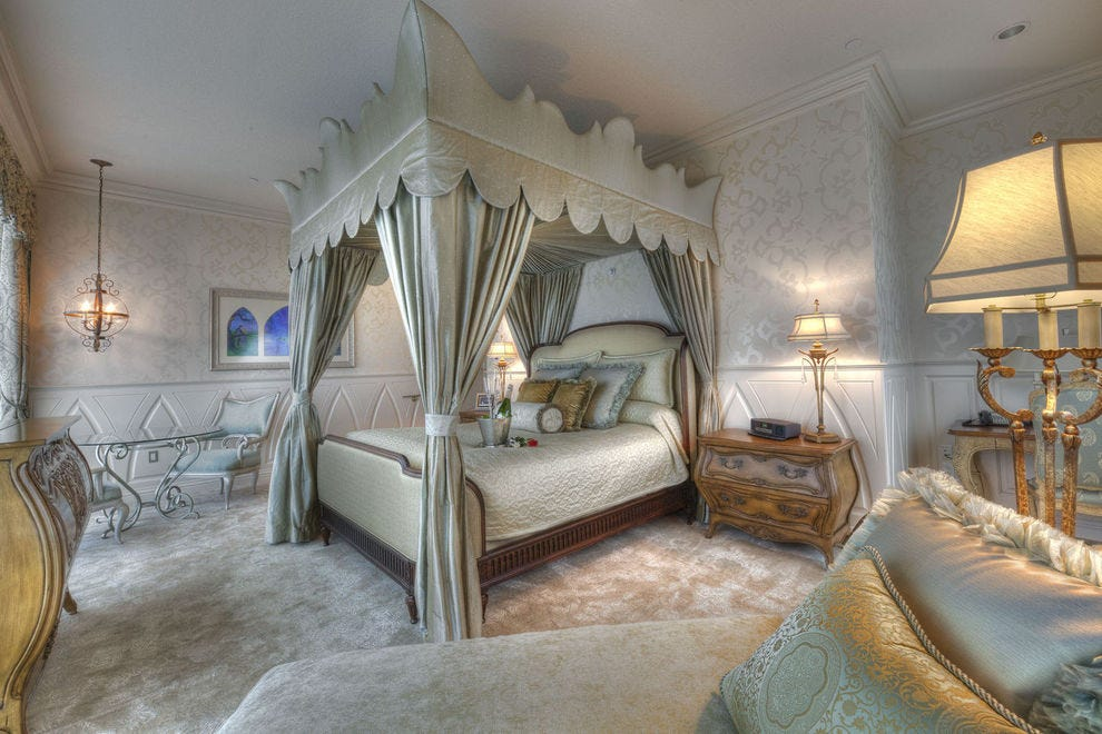 The Fairy Tale Suite at the Disneyland Hotel