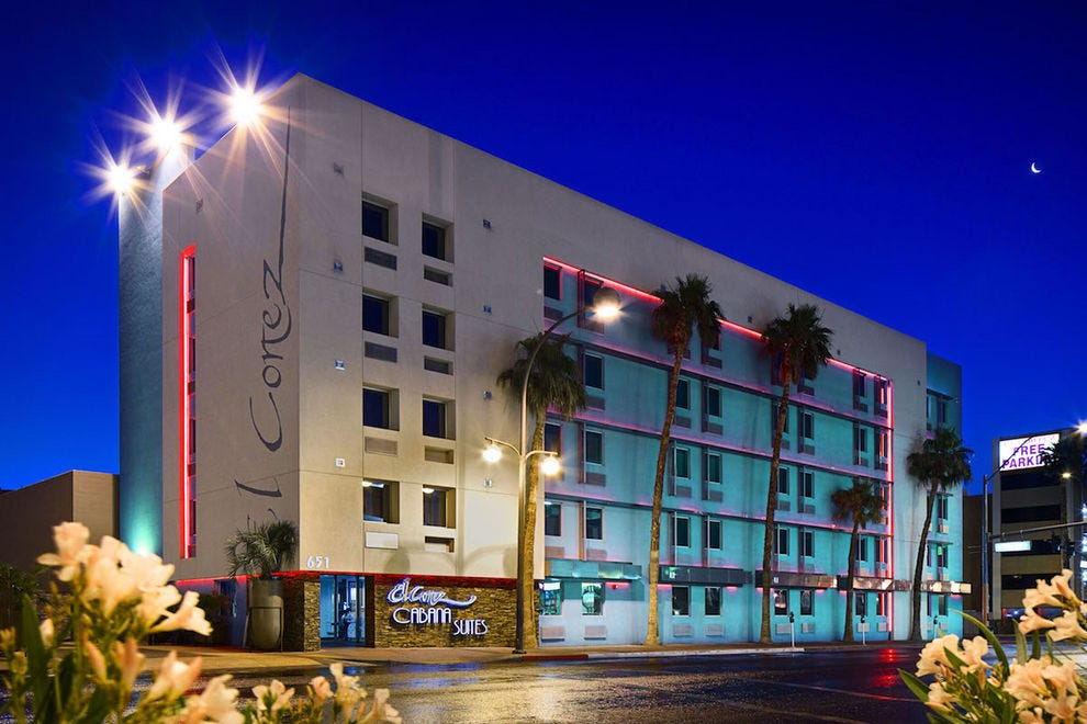 El Cortez is a Las Vegas landmark