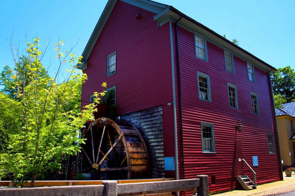 Spend the night in an 18th century mill