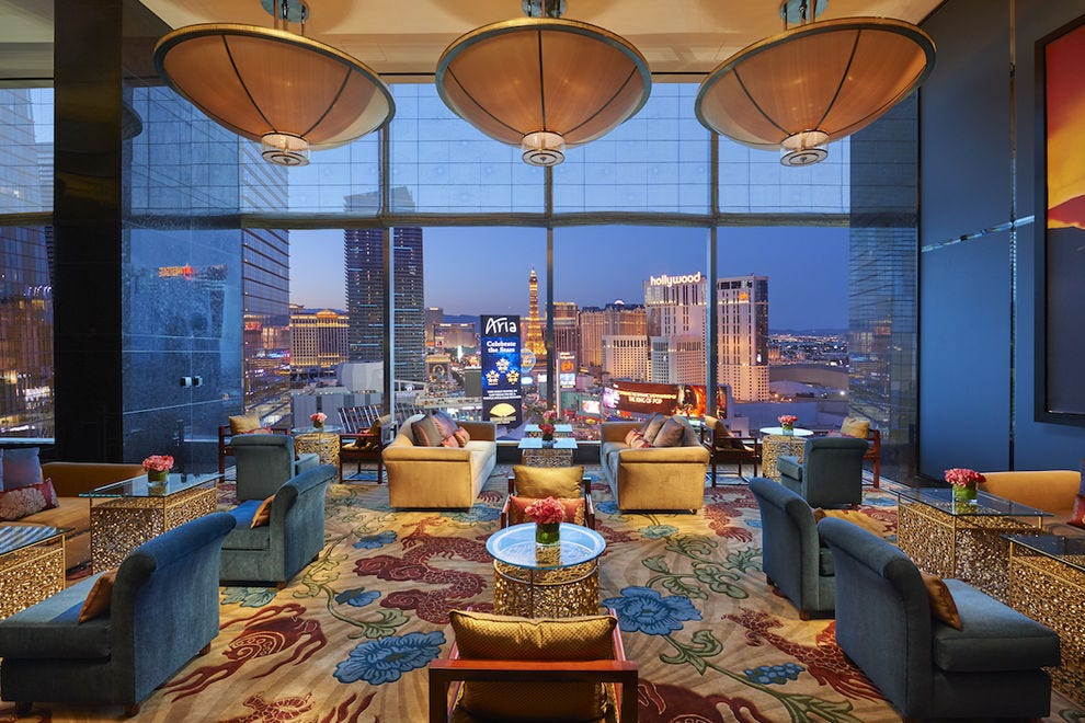 Tea Lounge at Mandarin Oriental Las Vegas