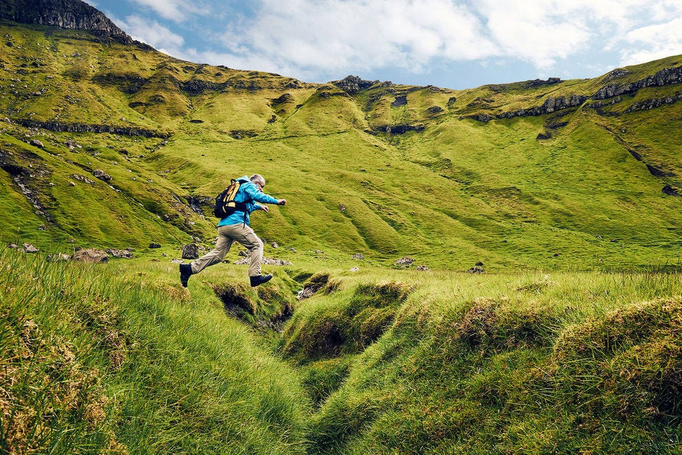 The website www.hiking.fo offers advice and route information for dozens of adventures around the islands