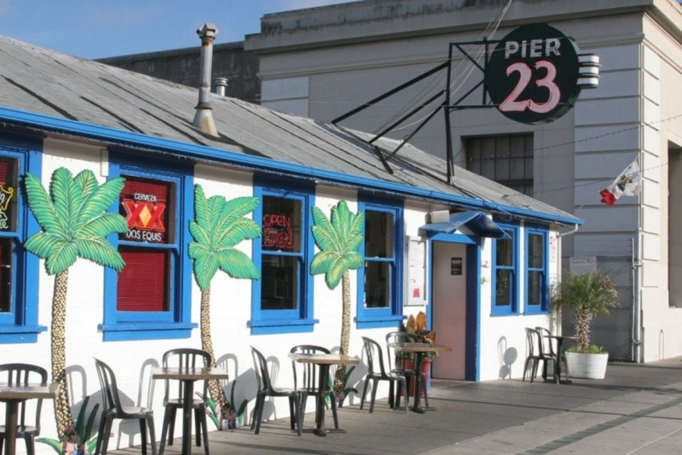 Pier  Cafe San Francisco Ca