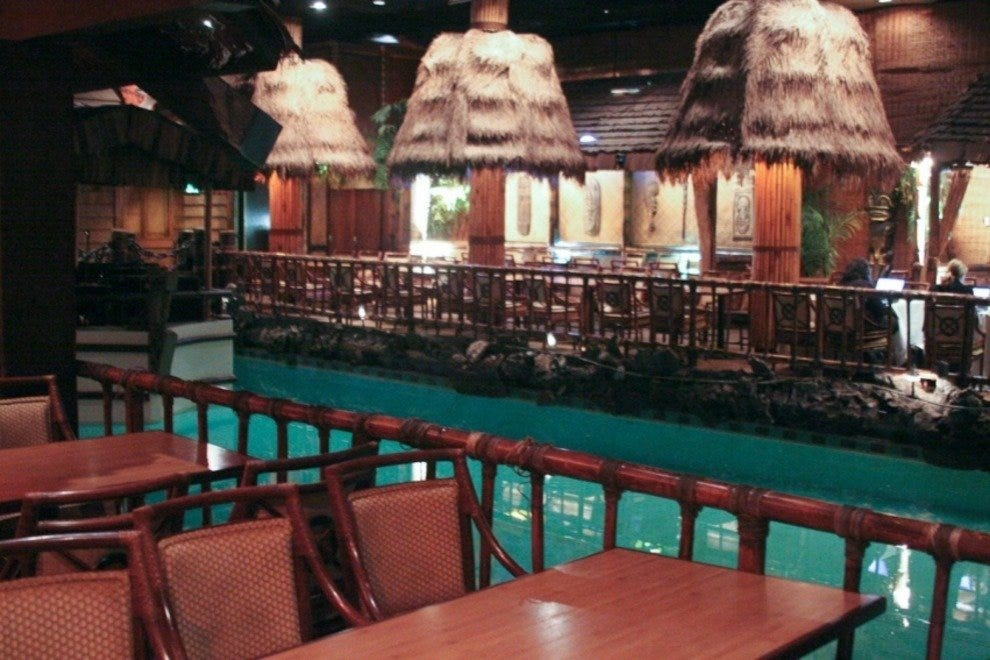 Tonga Room Hurricane Restaurant & Bar
