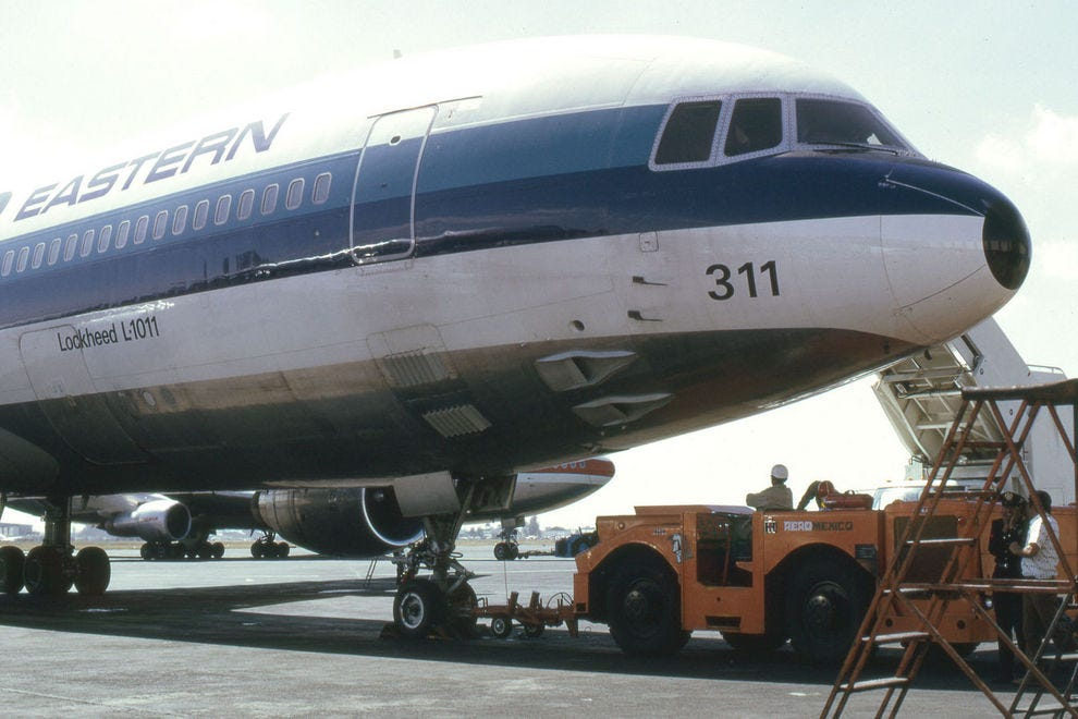 Eastern Airlines TriStar in 1972