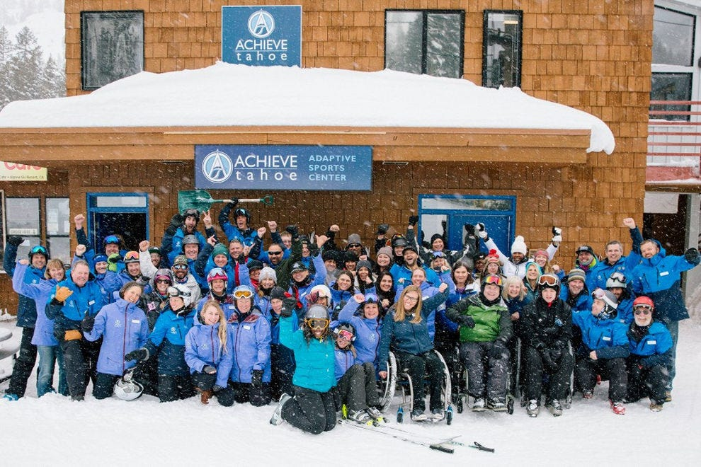 Achieve Tahoe Winter Military Sports Camp