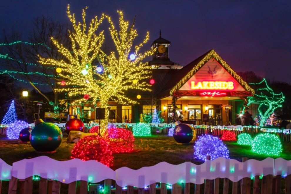 St Louis Zoo Christmas Lights