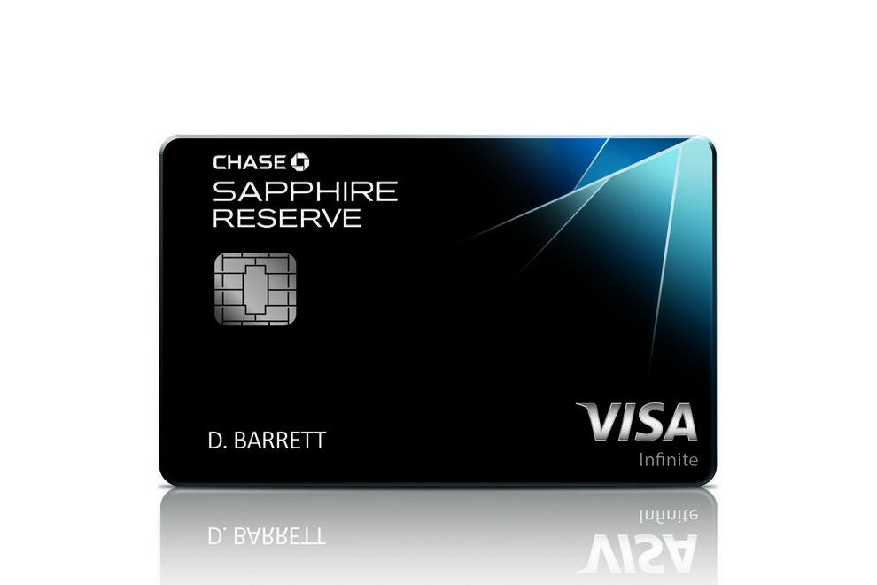 Earn free flights or cash back with the Chase Sapphire Rewards credit card
