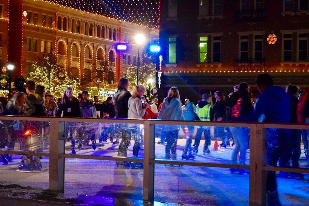 Christmas in the Square at Frisco Square