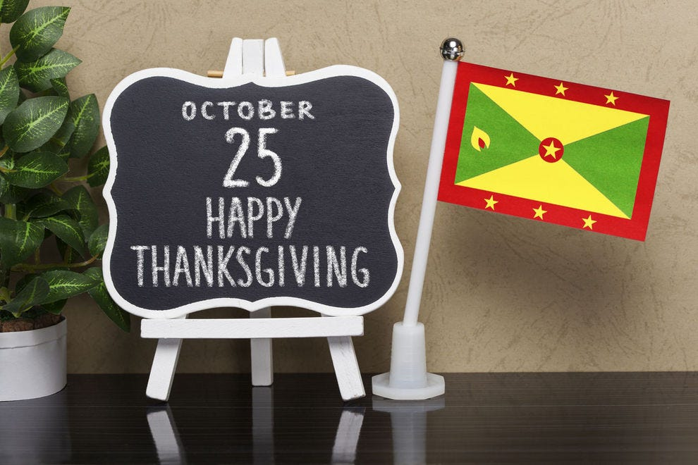 Grenada celebrates Thanksgiving around a month sooner than the U.S.
