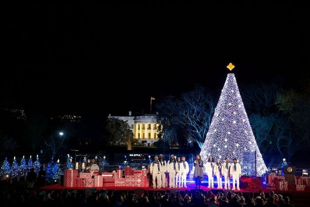 National Christmas Tree Lighting.National Christmas Tree Lighting Washington Attractions