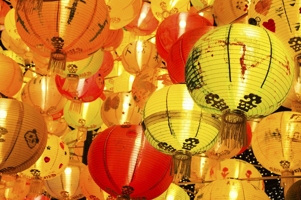 Lanterns on display for China's Mid-Autumn Festival