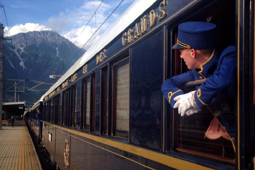 You can actually still (kind of) travel on the Orient Express