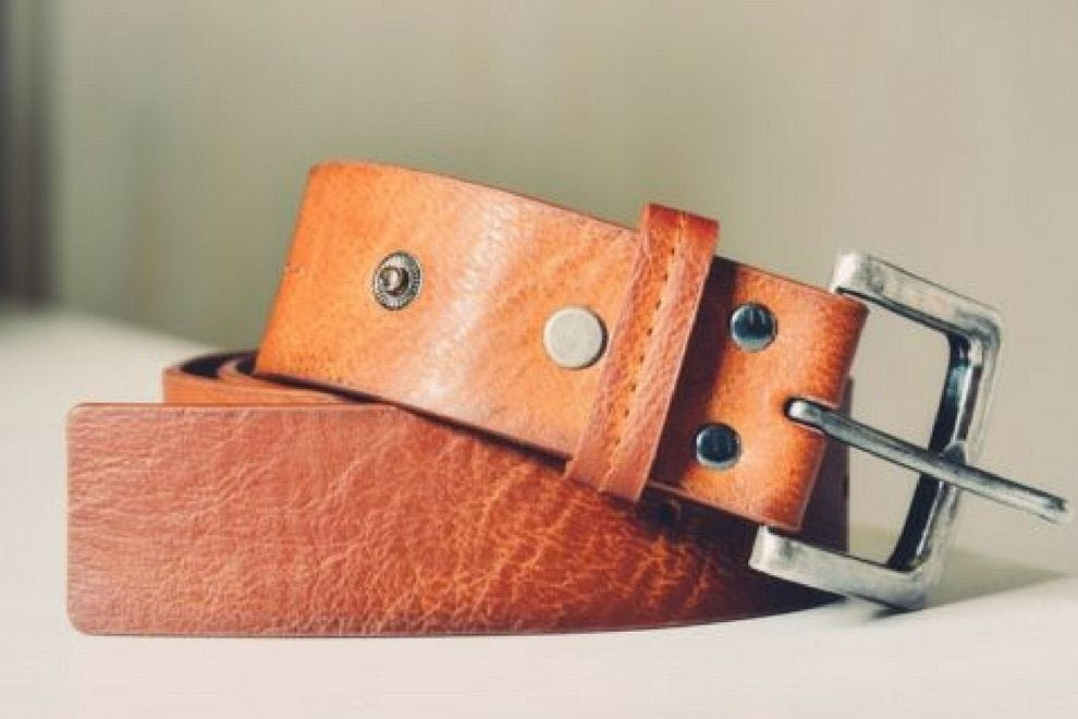 Wear home the leather belt you make at ADX Portland