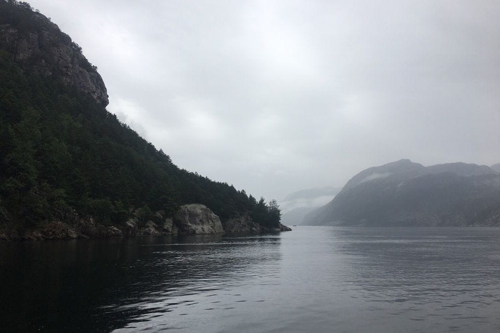 Sail through the fjords like the Vikings did