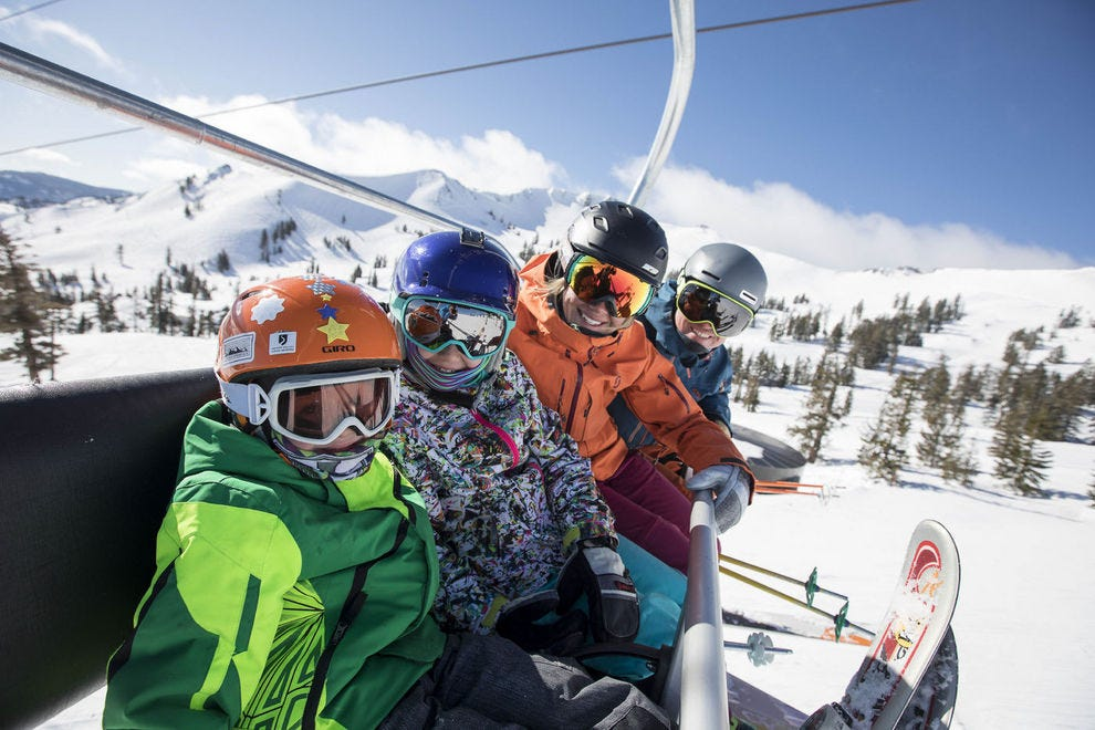 Squaw Valley Alpine Meadows has won the title of Best Ski Resort two years in a row