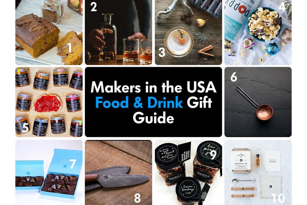 These handmade gifts are perfect for the foodies on your gift list