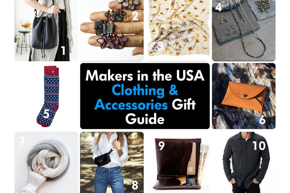 Give the gift of style with these American-made clothes and accessories