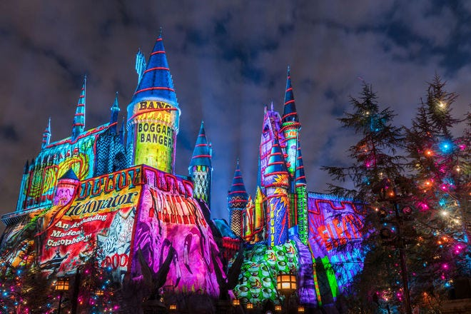 Accio Christmas!  Enjoy an enchanted holiday in the Wizarding World - travel-tips