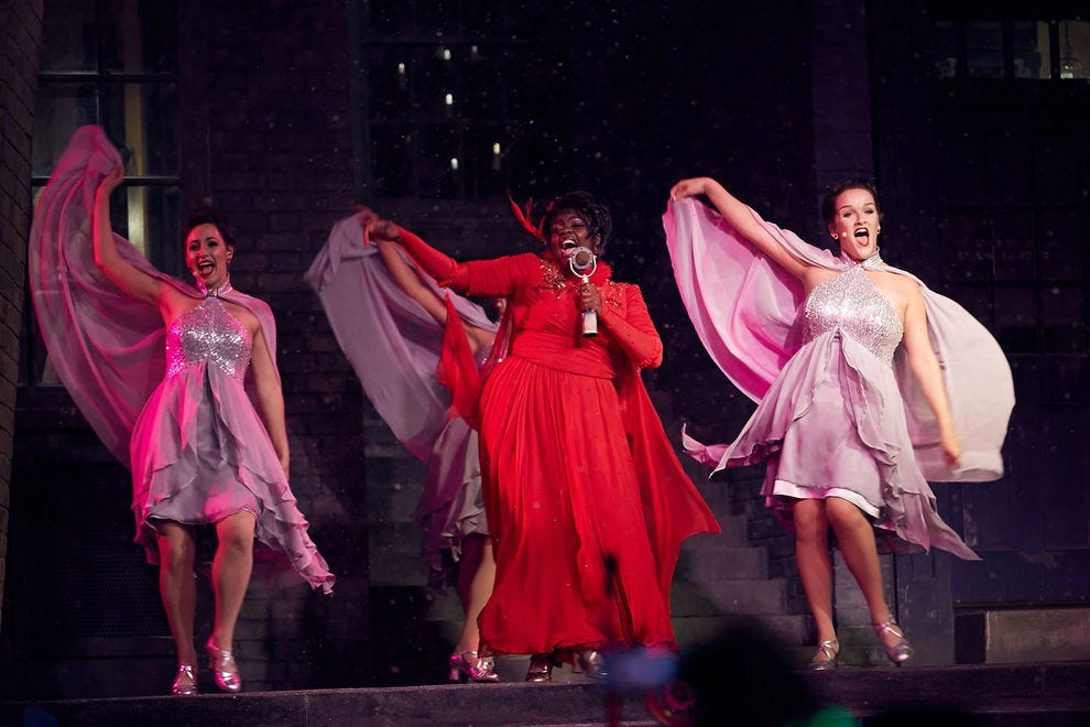 Vocal enchantresses Celestina Warbeck and the Banshees have four new holiday numbers to get guests in the spirit of the season